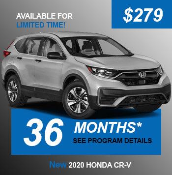New Honda CRV LX