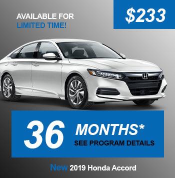 New 2020 Honda Accord