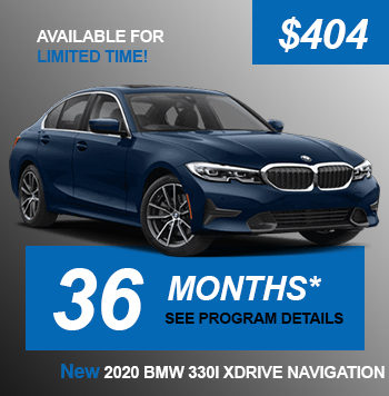 NEW 2020 BMW 330I XDRIVE NAVIGATION