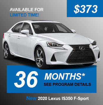 NEW 2020 Lexus IS350 F-Sport