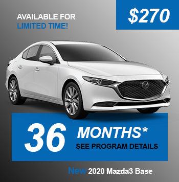 NEW 2020 Mazda3 Base