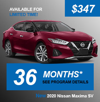 NEW 2020 Nissan Maxima SV