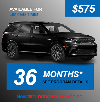 NEW 2021 DODGE DURANGO RT