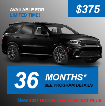 NEW 2021 DODGE DURANGO SXT PLUS