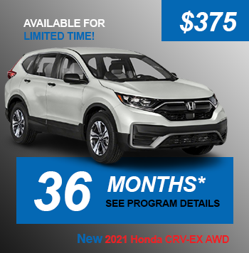 NEW 2021 Honda CRV-EX AWD