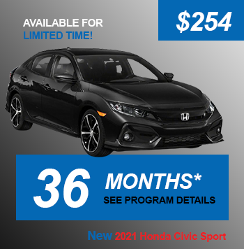 NEW 2021 Honda Civic Sport