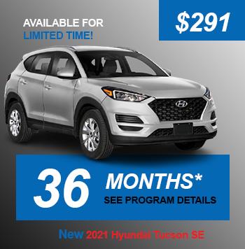 NEW 2021 Hyundai Tucson SE