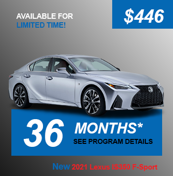 NEW 2021 Lexus IS350 F-Sport