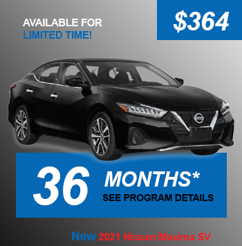 NEW 2021 Nissan Maxima SV